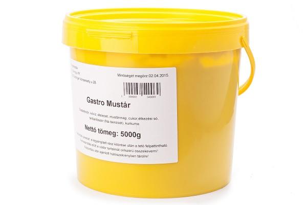Mustár vödörben