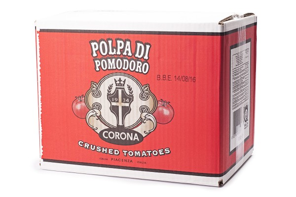 Passzírozott paradicsom Beg in box Polpa di Pomodoro olasz